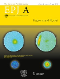 European Physical Journal. A, Hadrons and Nuclei